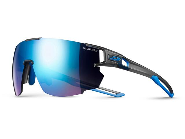 Julbo Aerospeed Spectron 3CF Brille grå/blå (2019) | Glasses